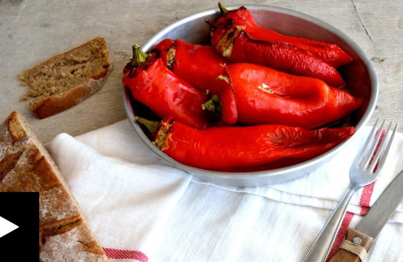 Πιπεριές γεμιστές πικάντικες