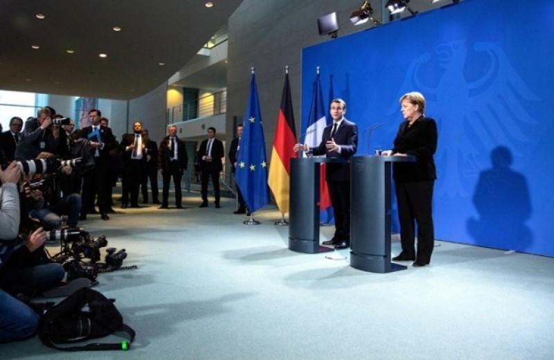 Περισσότερη κοινοτικοποίηση πολιτικών ζήτησε ο πρόεδρος της Γαλλίας Εμανουέλ Μακρόν